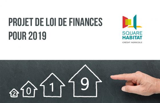 Projet de loi de finances pour 2019