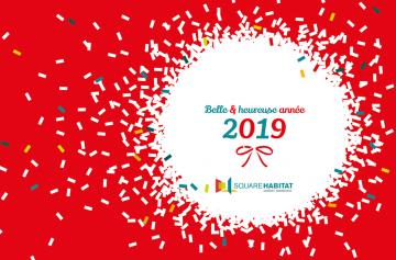 Belle & Heureuse année 2019