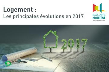 Logement : Les principales évolutions en 2017
