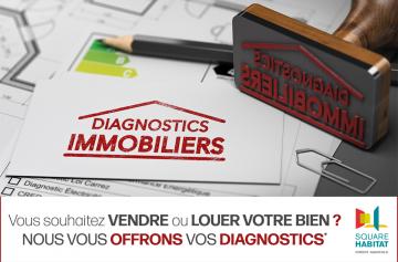 Vos diagnostics offerts
