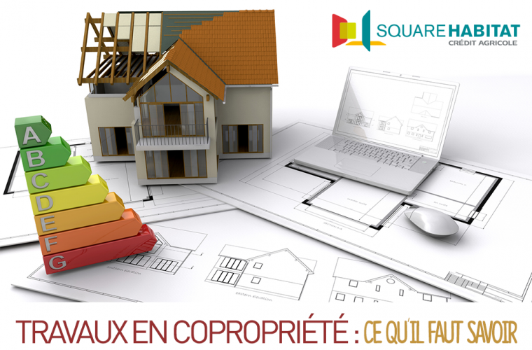 Square habitat agences immobili res du sud rh ne alpes d partements de l - Copropriete travaux toiture ...
