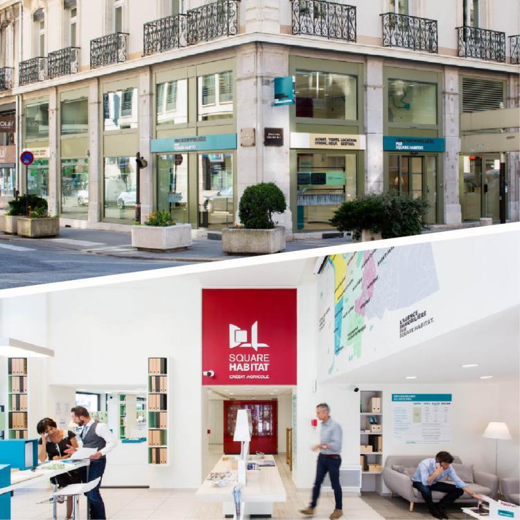 Square habitat lance un nouveau concept d 39 agence for Agence immobiliere 4